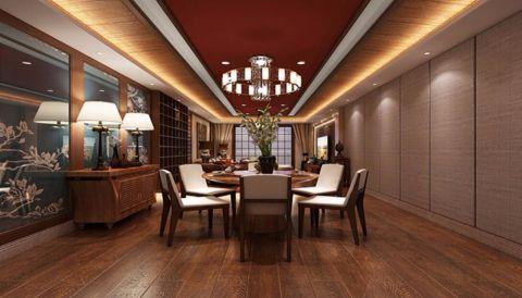 餐厅吊顶东南亚风格装潢图片