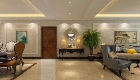 玄关吊顶欧式风格装饰效果图