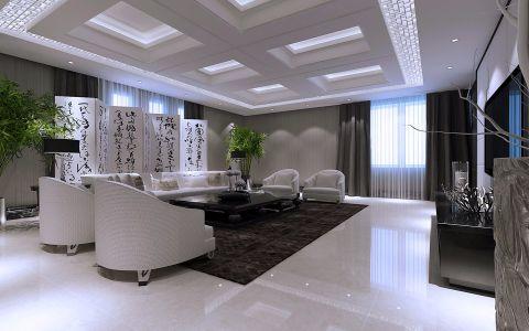 客厅细节简约风格装饰设计图片