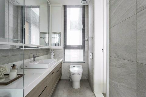 卫生间橱柜现代简约风格装潢图片