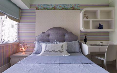 儿童房窗帘简欧风格装潢设计图片