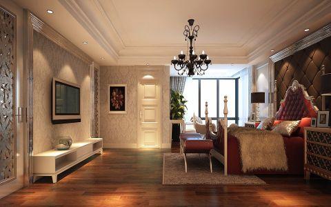 卧室细节欧式风格效果图