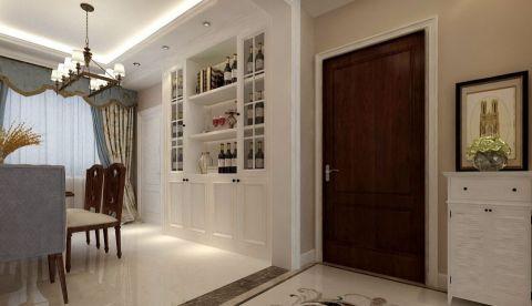 玄关橱柜简欧风格装饰效果图