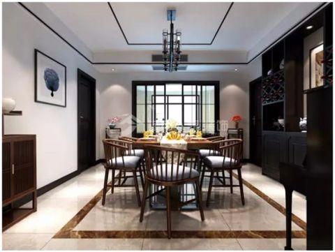 华安庭岸风景185平现代简约风格四室两厅装修效果图
