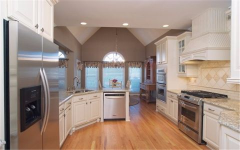 厨房飘窗欧式风格装修设计图片