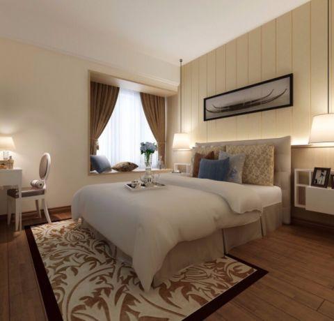 卧室细节新中式风格装饰图片