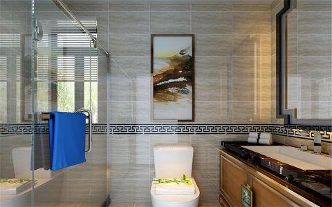 卫生间细节新中式风格装饰设计图片