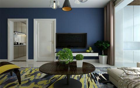 客厅细节现代简约风格装潢设计图片