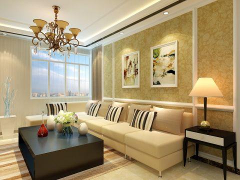 中建锦绣蘭庭120平三居室现代简约风格装修效果图