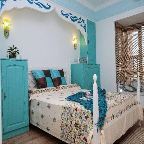 卧室细节地中海风格装修效果图