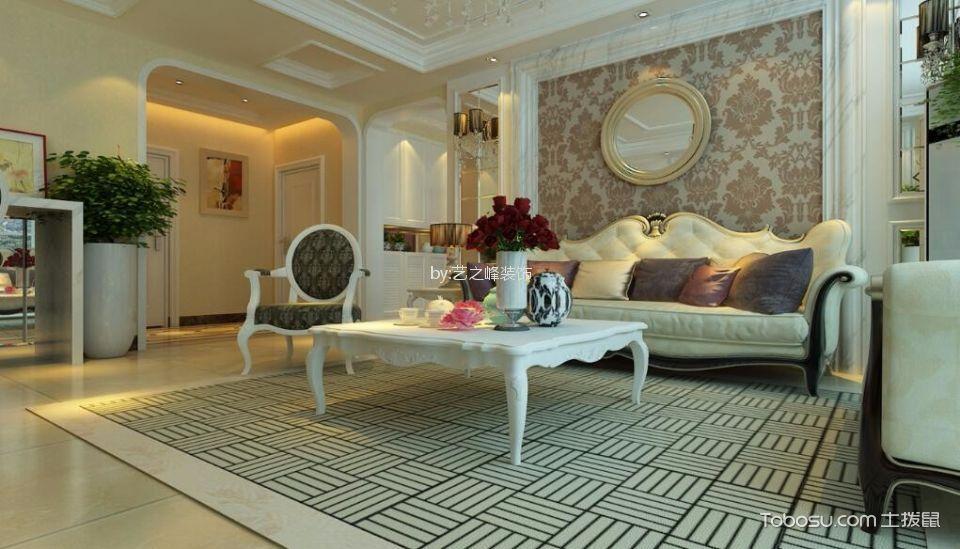 现代风格145平米三室两厅新房装修效果图