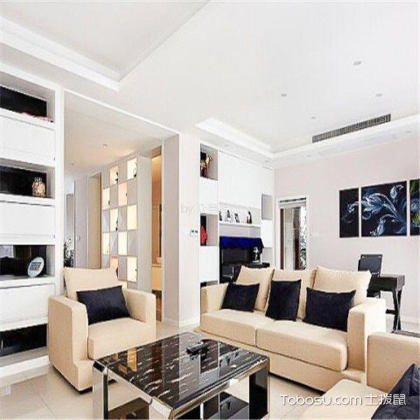 【众意装饰】铜雀台90平田园风格两居室装修效果图