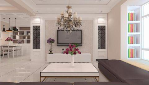荣昌绿园小区120平米现代简约三居室装修效果图