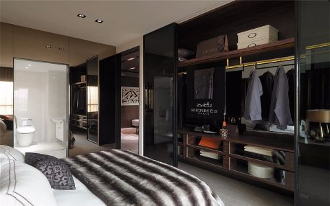 玉兰广场140平米现代简约风格两室装修效果图