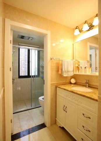 卫生间细节简欧风格装修设计图片