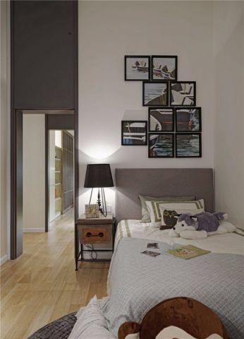 儿童房照片墙现代简约风格装饰效果图