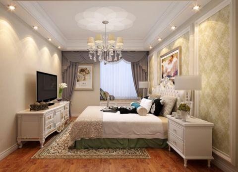 卧室电视柜美式风格装饰设计图片