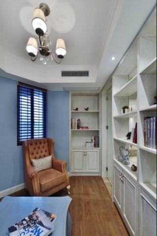 书房吊顶美式风格装修效果图