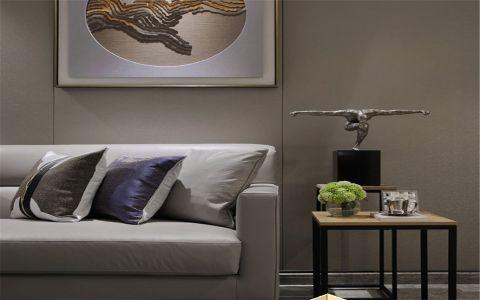 客厅背景墙简约风格装修图片