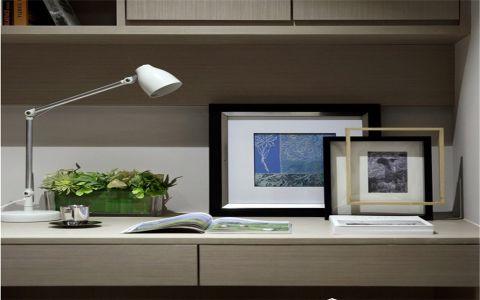 书房吧台简约风格装潢图片