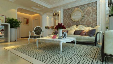 凤凰水城小区145平方现代风格三居室装修效果图