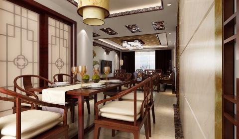 餐厅餐桌中式风格效果图