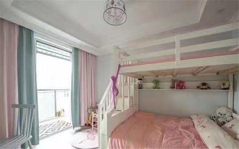 儿童房窗帘北欧风格装潢效果图