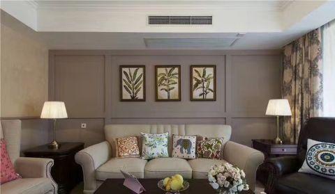 【众意装饰】天浩上元郡150平美式风格三居室装修效果图