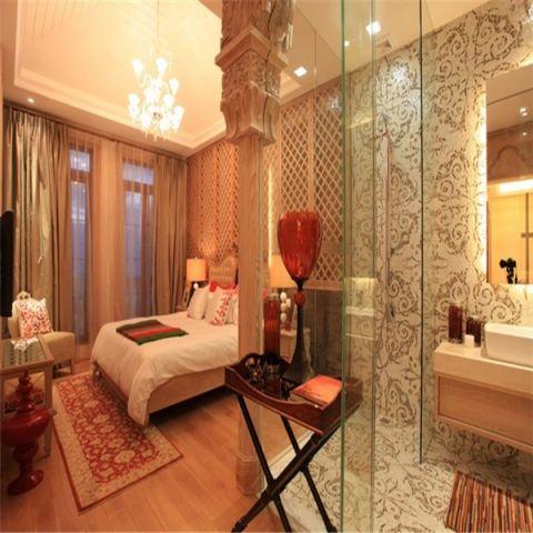 卧室隔断新中式风格装饰设计图片
