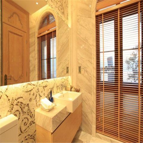 卫生间隐形门新中式风格装潢设计图片