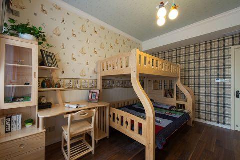 儿童房细节美式风格装潢图片