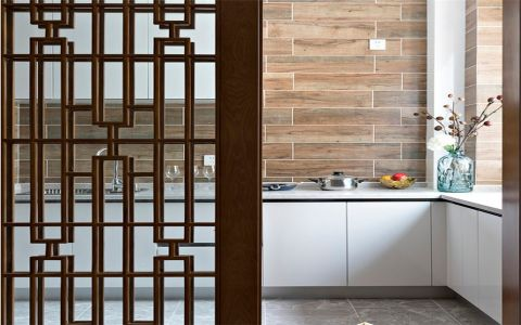 厨房隔断新中式风格装饰效果图
