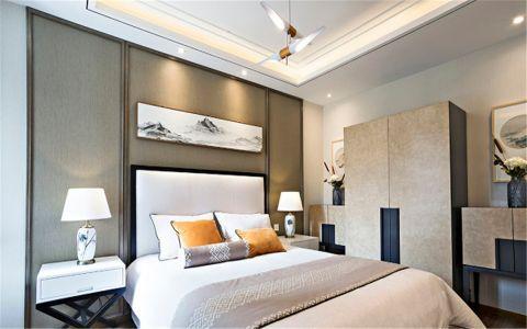 卧室衣柜新中式风格装修图片