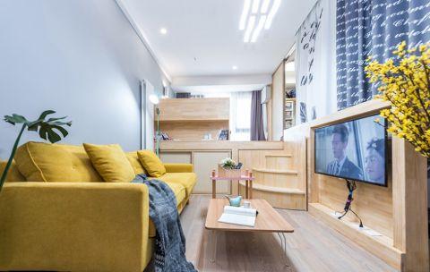 简约风格60平米小户型新房装修效果图