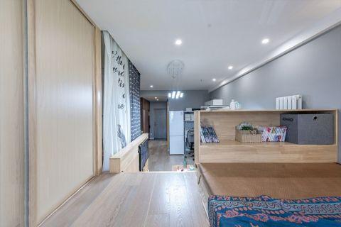 客厅白色门厅简约风格装饰图片
