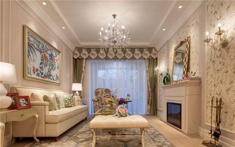 百家湖110平方欧式风格三居室装修效果图