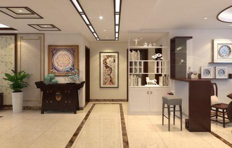 客厅走廊中式风格装修设计图片