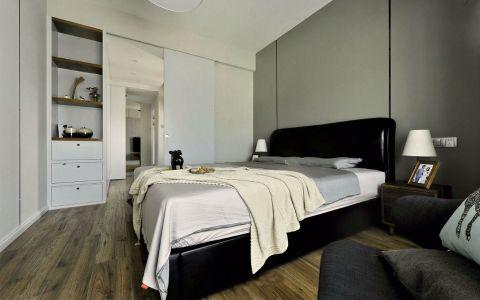 欧式风格117平米三室两厅新房装修效果图