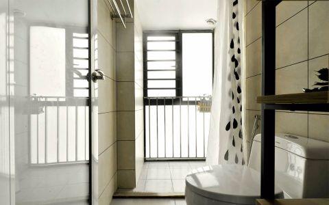 卫生间背景墙欧式风格装潢效果图