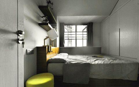 卧室飘窗欧式风格装潢图片