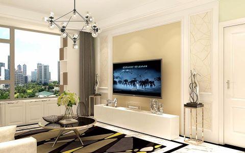 客厅飘窗简约风格装饰设计图片