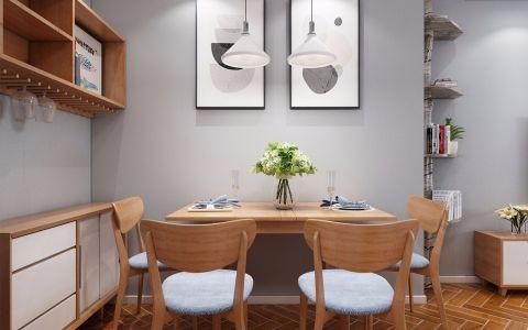 餐厅照片墙简欧风格装潢效果图