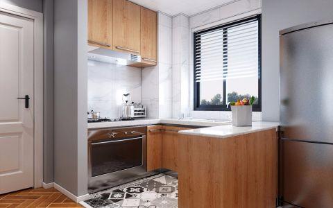 厨房细节简欧风格装修图片