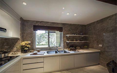 厨房橱柜新中式风格装修效果图