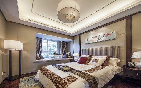 卧室吊顶新中式风格装饰效果图