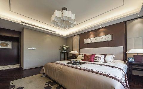 卧室细节新中式风格装潢效果图