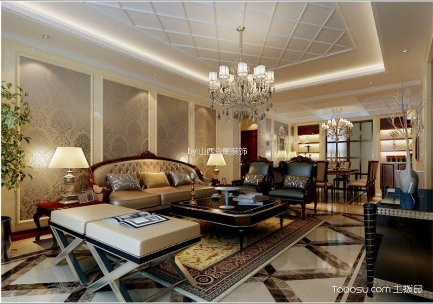 简欧风格225平米大户型室内装修效果图