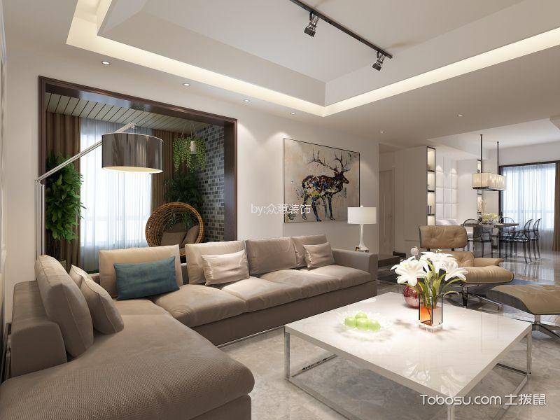 世融嘉轩180平欧式风格四室装修效果图