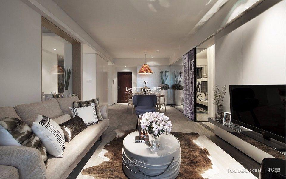 天泽苑122平欧式风格四居室装修效果图