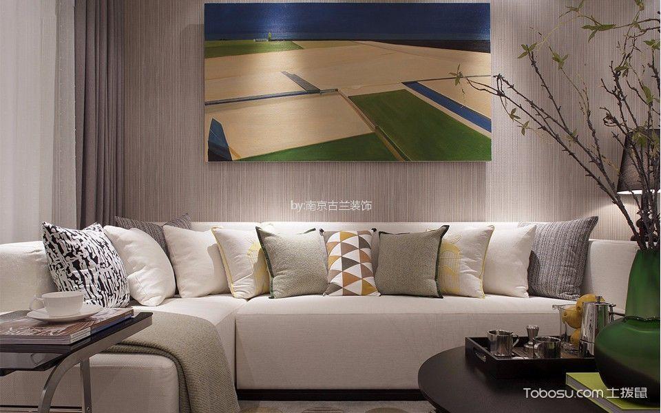 客厅 门厅_武夷绿洲 110平现代风格三居室装修效果图